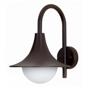 Elegant outdoor wall light 167, black