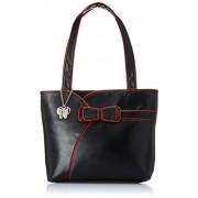 Butterflies Women's Shoulder Bag (Black)(BNS 0402)