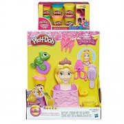 Play Doh Royal Salon Featuring Disney Princess Rapunzel + Play-Doh Sparkle Compound Bundle