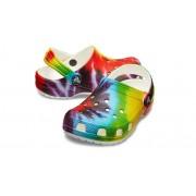 Crocs Classic Tie-Dye Graphic Klompen Kinder Multi 24