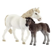 Schleich Farm World 42423 Pony Mare and Foal