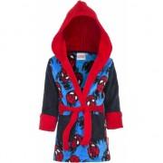 Zwart/blauwe badjas Spiderman