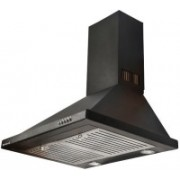 Gamle Kitchen Olivia BLK 60 Wall Mounted Chimney(Silver, Black 1100 CMH)