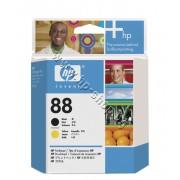 Глава HP 88, Black + Yellow, p/n C9381A - Оригинален HP консуматив - печатаща глава