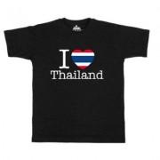 geschenkidee.ch Ländershirt Thailand, Schwarz, XL, Mann