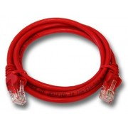 Linkbasic 1 Meter UTP Cat6 Patch Cable Red