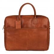 "Burkely Vintage Max Worker Laptoptas 17"" Cognac"