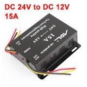 Convertor 24V - 12V / 15A, 180W