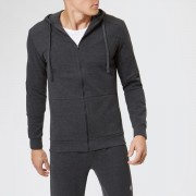 Asics Men's Tailored Full Zip Hoody - Phantom Heather - L - Grey
