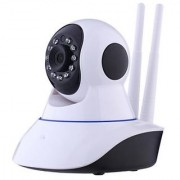 Wireless HD IP Wifi CCTV Indoor Security Camera Stream Live Video in Mobile or Laptop - White