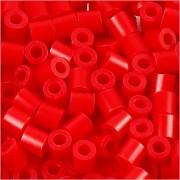 Nabbi Rörpärlor, medium, stl. 5x5 mm, 6000 st., röd (32231)