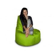 CrazyShop sedací vak KŘESLO, neonově zelená