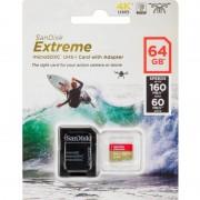 SanDisk EXTREME MICROSDXC 64GB U3 A2 V30 160MB/S
