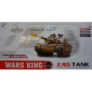 RC Távirányítós Tank Ger Tiger tartályos műanyag lövedékes 1:24 - NO.789-3