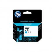 Cartucho HP Plotter 711 - Ciano 29ML - CZ130AB