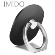 Držiak mobilného telefónu v tvare prsteňa čierny