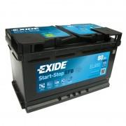 Exide EFB 80Ah 720A J+