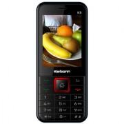 Karbonn K9 (Dual Sim 2.4 Inch Display 1800 Mah Battery Black-Red)
