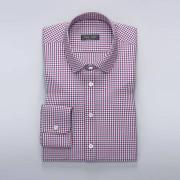 Tailor Store Rutig skjorta i rött/blått