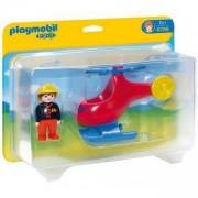 Комплект Плеймобил 6789 - Спасителен хеликоптер, Playmobil, 290989