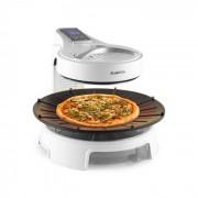 Klarstein Maverick Halogengrill rauchfreier BBQ-Grill Tischgrill 1500W weiss