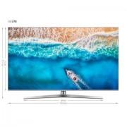 Hisense H55U7B led-tv (138 cm / 55 inch), 4K Ultra HD, smart-tv - 617.54 - zilver