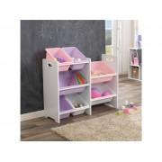 Kidkraft 7 Bin Toy Storage Unit White