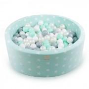 Meow Baby Bollhav Mint Stjärnor 40 cm & Bollar Paket
