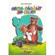 Carte de colorat A5 - Ursul pacalit de vulpe/***