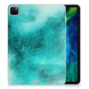 B2Ctelecom Tablethoes iPad Pro 11 inch (2020) Painting Blue
