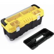 Cutie de scule TITAN Professional - 30 cu inchizatori si maner din aluminiu cu 4 organizatoare pe capac