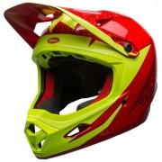 Bell Transfer-9 Casco per bici (XL, rosso/verde/nero)