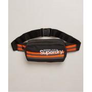 Superdry Lange Montauk Bauchtasche mit Streifen 1SIZE schwarz
