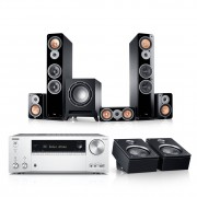 """Teufel Ultima 40 Surround AVR for Dolby Atmos """"5.1.2-Set"""""""