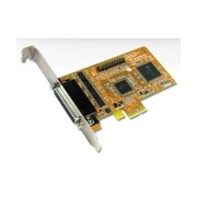 Sunix MIO5499H 4x HS RS-232 + 1x Parallel PCI-E Card