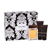 Dolce&Gabbana The One For Men confezione regalo Eau de Toilette 100 ml + balsamo dopobarba 75 ml + doccia gel 50 ml Uomo