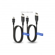 2 X Pcs T-Power Cable USB Para Sony MP3 / MP4 Reproductor NWZ NW PMX SanDisk Sansa Clip / Sanyo GPS