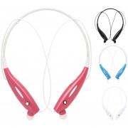 Audífonos Inalámbricos, Inalambricos Audifonos Bluetooth Manos Libres V4.0 Auriculares Manos Libres Deportes Música Estéreo Auricular Para Sony Iphone Samsung (rosa)