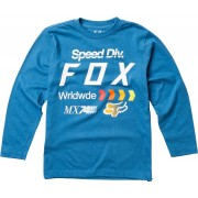 Fox Youth Murc Camisa de manga larga Azul XL