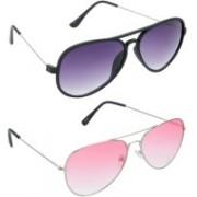 Redleaf Aviator Sunglasses(Grey)