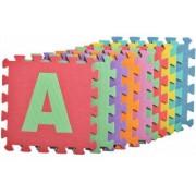 Covor puzzle din spuma MalPlay 10 piese cu Litere 29 x 29 cm