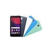Smartphone Alcatel Pixi 4 Colors Android 6.0 Tela 5 Quad Core 8GB 4G Câmera 8MP e Tv Digital - Preto