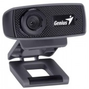 Camera Web Genius FaceCam 1000x, HD 720p (Negru)