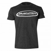 muscletech signature black t shirt non