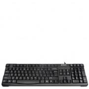 Tastatura A4Tech KR-750-USB USB, Comfort Round (taste rotunjite), negru