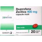 ZENTIVA ITALIA Srl Ibuprofene Zentiva, 200mg Capsule Molli, 24 Capsule In Blister Pvc/pvdc/al