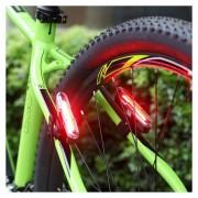 Goofy X7505 USB Recargable 5 Modos De Luz Roja Y Azul COB LED Bicicleta Luz Trasera Luz De La Bicicleta De Ciclismo