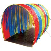 Pacific Play Tents Kids Tickle Me 9.5 Foot Giant Institutional Crawl Tunnel