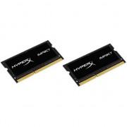 Memorii laptop hyperx Impact DDR3 SODIMM 2x4GB 1866MHz CL11 (HX318LS11IBK2/8)
