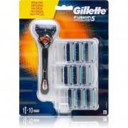 Gillette Fusion5 Proglide holicí strojek + náhradní břity 10 ks
